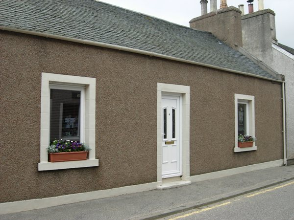 Front of Birch Holiday Cottage